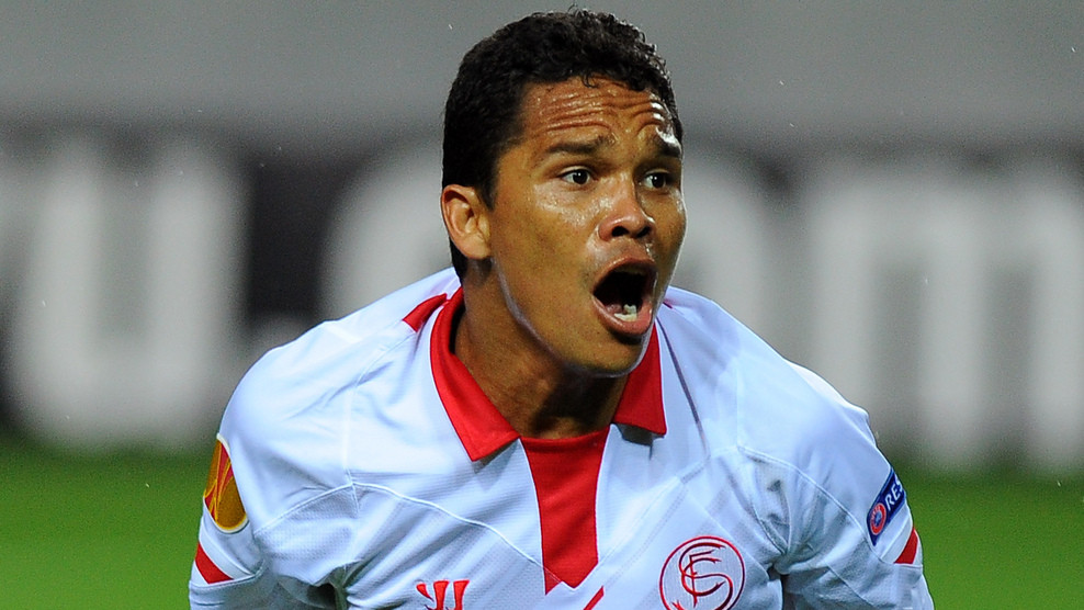 Sevilla want 18-20 million for Carlos Bacca